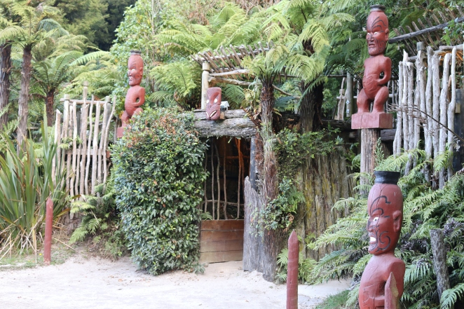 Entrance to the Maori Village