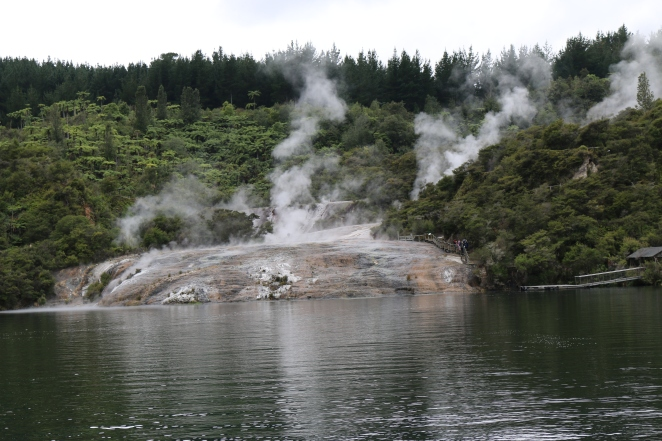 The geo-thermal system of the NZ island(s) is amazing!