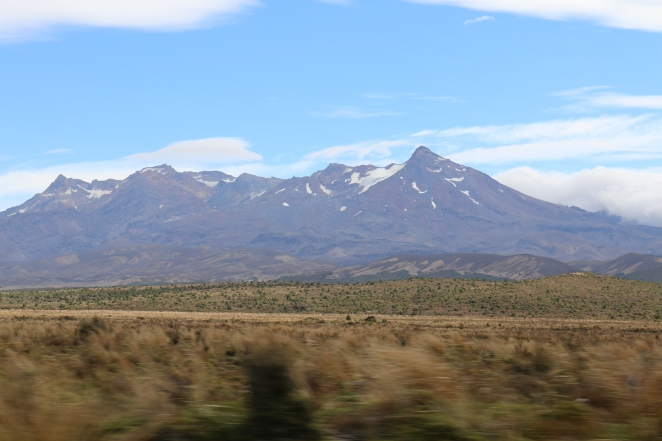 On the road again, Lake Taupo to Wellington, NZ